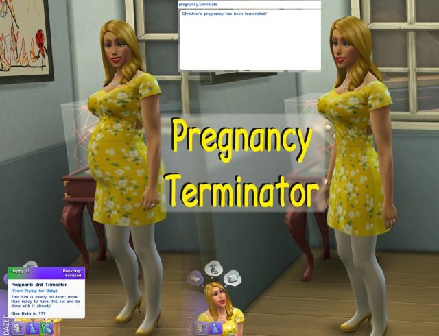 Коды к симс 4 прерывание беременности